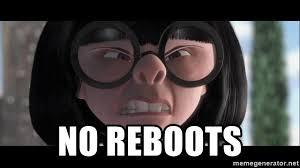 NO reboots - Edna Mode - No Capes | Meme Generator